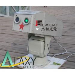Shipborne dazzler system