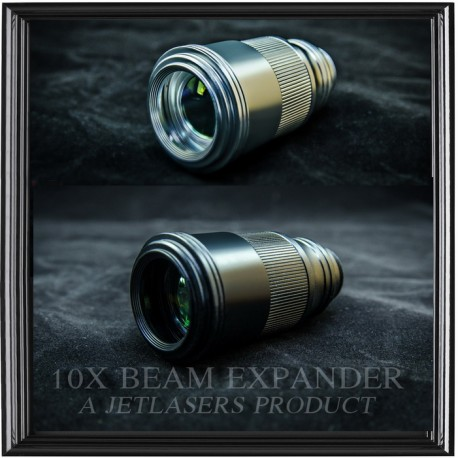 10X Adjustable Beam Expander for PL-E Pro