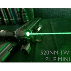 PL-E Mini 520nm Green Laser
