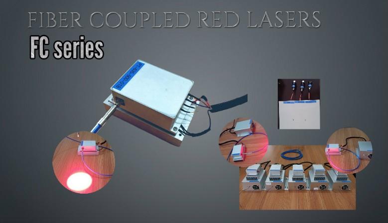 Medical FIBER COUPLED Laser AT 635NM