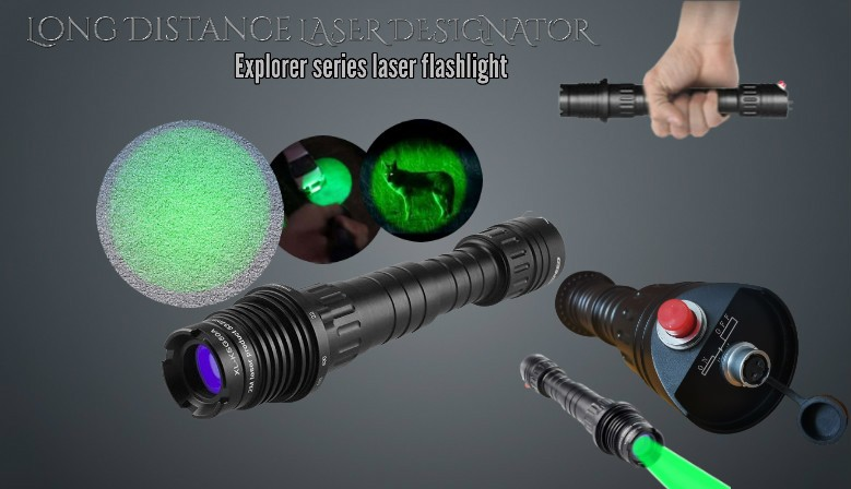 Long distance Laser Designator and illuminator, JETLASERS