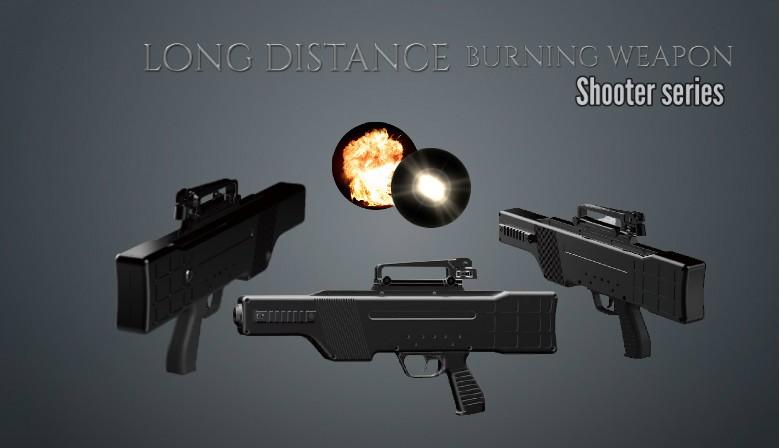 Long distance Burning Ir Laser